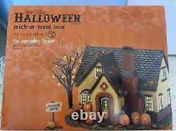 Department 56 Snow village Halloween The Pumpkin House #4030757