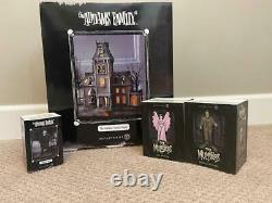Department 56 The Addams Family House AND Herman Lily & Lurch Munsters FREE SHIP