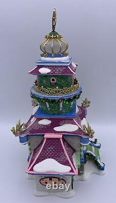 Department 56 Village North Pole Series Tinker Bells Lighthouse Disney Fairies