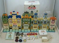 Dept 56 1999 City Lights Monopoly Set Of 6, Figures, Panel Discs, No Boxes