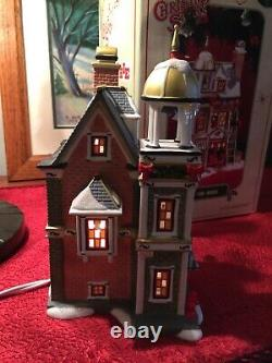 Dept 56 A Christmas Story The Fire House 2008 Lighted Building 805666 Department