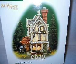 Dept 56 All Hallows' Eve, Mordecai Mould Undertaker New in Box, 2002, Halloween