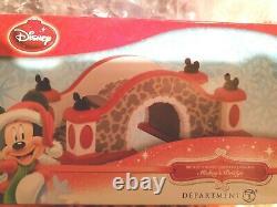 Dept 56 Disney Mickeys Christmas Village Accessory -BRIDGE
