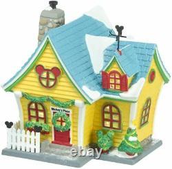 Dept 56 Disney Village MICKEY'S HOUSE 4027599 DEALER STOCK-BRAND NEW IN BOX