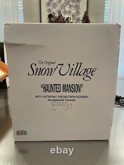 Dept 56 GREEN ROOF Halloween Haunted Mansion # 56.54935 Original Snow Village