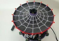 Dept 56 Ghostly Carousel Halloween Snow Village 55317 Sound Light