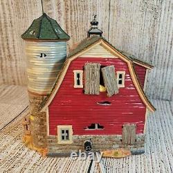 Dept 56 Halloween Haunted Barn Eerie Sounds/Light Works, Retired 2001 56.55060