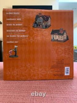 Dept 56 Halloween The Cemetery House Limited Edition, Brand New, Retired-Rare