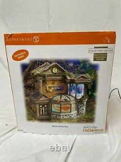 Dept. 56 Halloween Village, Monsters of the Deep, RETIRED LIMITED EDITION
