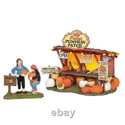 Dept 56 Halloween Village PATTY'S PUMPKIN PATCH Boxed SET OF 4 New 2020 6005479