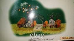 Dept 56 Halloween lot and LEMAX SPOOKY TOWN HALLOWEEN LOT huge collection