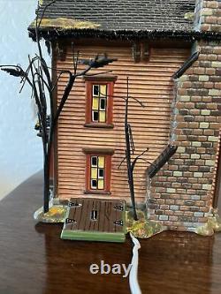 Dept 56 SV Halloween Halloween Victorian House #56.54601