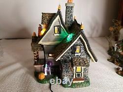 Dept. 56 The Candy Cauldron Halloween Snow Village Building