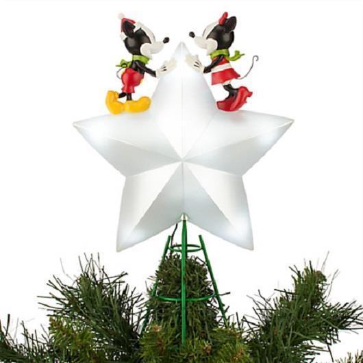 Disney 2015 Mickey And Minnie Tree Topper New In Box