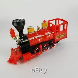 Disneyland Railroad C. K. Holliday Train Set Sounds Puffs Smoke