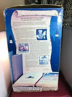Enesco Enchanted Clock Tower Nursey Rhymes Action/Lights Music Box VIDEO