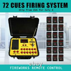 Fee ship 72 Cues fireworks firing system 500M Long distance. Stage effects