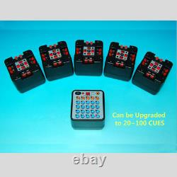 Firing Control System Amazing 20 Cues Fireworks Wireless Equipment Upgradeable