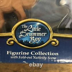 Forever Fun RARE The Little Drummer Boy Nativity Rankin Bass Miniature Figurines