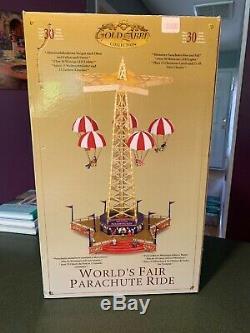GUC Mr. Christmas Gold Label World's Fair Parachute Ride Lights/music/movement