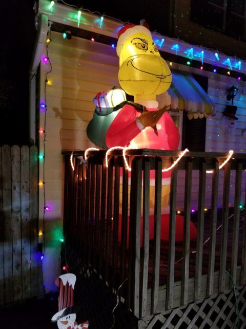 Gemmy Christmas Airblown Inflatable 8' Grinch New For 2017