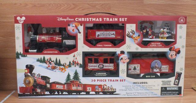 Genuine Disney Disney Parks Christmas Train Set In The Original Box Read