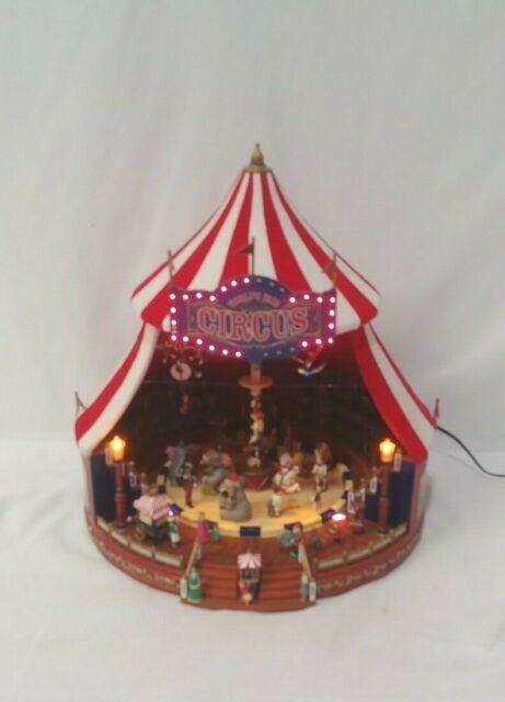 Gold Label Collection Mr. Christmas Inc. Animated World's Fair Big Top 2004 Vguc