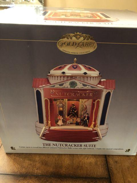 Gold Label Mr. Christmas The Nutcracker Suite Musical Ballet New Never Opened