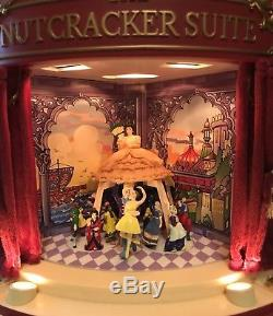 Gold Label Mr. Christmas The Nutcracker Suite Musical Ballet Working 100%