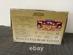 Gold Label Mr Christmas Worlds Fair Bump and Go