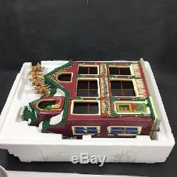 Gold Label The Night Before Christmas Animated House