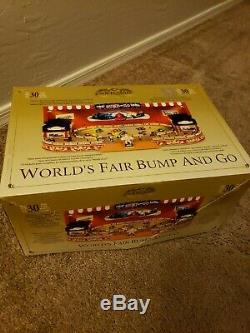Gold Label Worlds Fair Bump and Go, Animated Display, Mr Christmas NIB New rare
