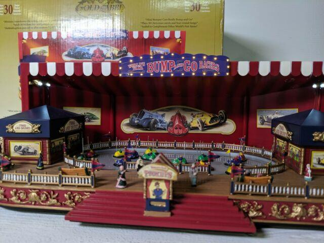 Gold Label Worlds Fair Bump And Go, Animated Display, Mr Christmas Works Great