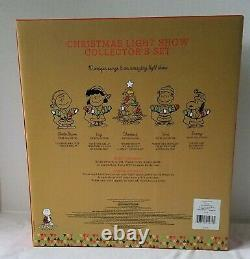 Hallmark Peanuts Gang Christmas Light Show 2015 Special Collector Edition NEW