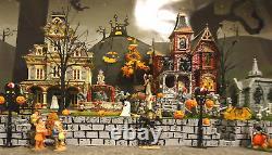 Halloween Display Platform Base for Dept 56 Snow Village Lemax Spooky Town 3pcs