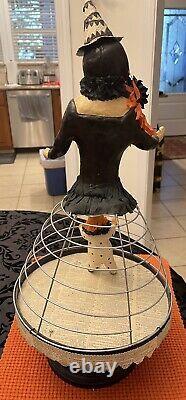 Halloween Witch Folk Art By Nicol Sayre For Bethany Lowe