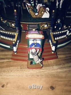 Holiday Around The Carousel 2003 Mr. Christmas Animated Musical