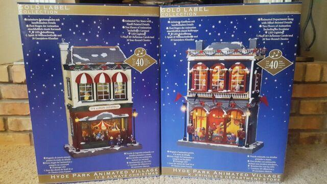 Hyde Park K. Kringle Department Store & It's Always Christmas Animated Village