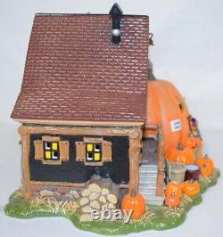 Jack's Pumpkin Carving Studio Snow Village HALLOWEEN Department Dept 56