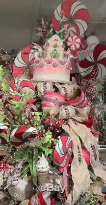 Katherine's 17.5 SWEET Cake CHRISTMAS Tree TOPPER or Table Piece 28-828355