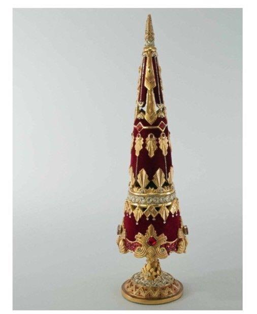 Katherine's Collection 20 Holiday Cheer Jeweled Tree Tabletop Display 28-828220