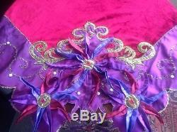 Katherine's Collection 54 Beaded Velvet Bolshoi Nativity Table Cover Topper