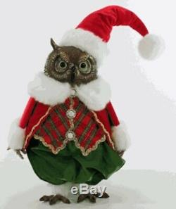 Katherine's Collection Christmas Wishes Owl Tabletop 18-944781 NEW