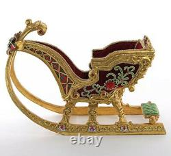 Katherine's Collection Christmas Wishes Tabletop Sleigh 28-928523 NEW