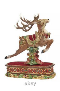 Katherine's Collection Decorative Reindeer Christmas 2020 Display New 28-928472