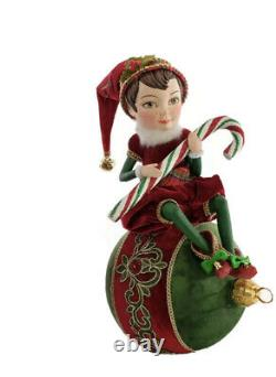 Katherine's Collection Elf On Ornament 28-928603 NEW CHRISTMAS 2020