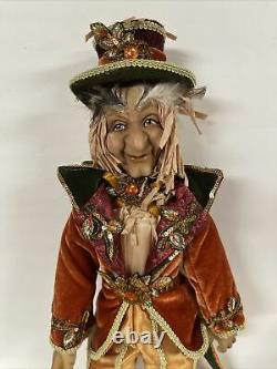 Katherine's Collection Harvest Scarecrow 19 Doll Thanksgiving Halloween Fall