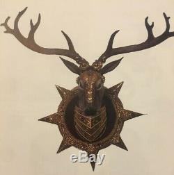 Katherine's Collection Journey Stag Deer Head Wall Display NEW Christmas RARE