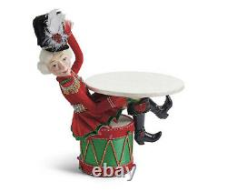 Katherine's Collection Nutcracker Sitting On Drum 28-028639 NEW CHRISTMAS 2020