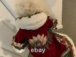 Katherine's Collection Papa Noel Wayne Kleski Santa Doll 31 inch 11-31306